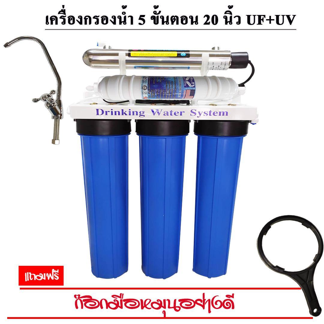 5 ขั้นตอน 20  นิ้ว-UF+UV